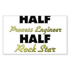 Half Process Engineer Half Rock Star Decal