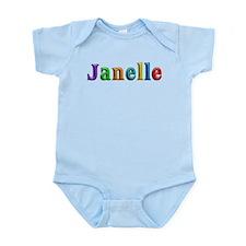 Janelle Shiny Colors Body Suit