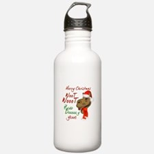 Merry Christmas Woot Woot Camel Water Bottle