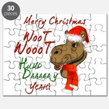 Merry Christmas Woot Woot Camel Puzzle