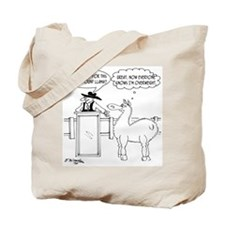 Great, Now Everyone Knows I'm Overweight Tote Bag