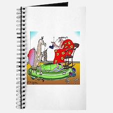Llama Knitting Journal