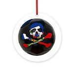Haitian Football Phantom Ornament (Round)