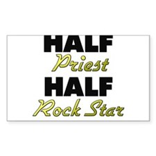 Half Priest Half Rock Star Decal
