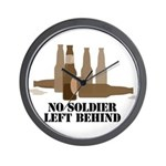 Fallen Soldier/Beer Drinker's Wall Clock