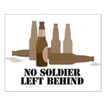Fallen Soldier/Beer Drinker's Small Poster