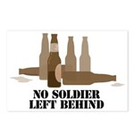 Fallen Soldier/Beer Drinker's Postcards (Package o