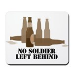 Fallen Soldier/Beer Drinker's Mousepad