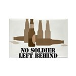 Fallen Soldier/Beer Drinker's Rectangle Magnet (10