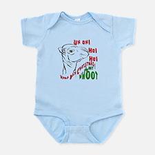 Hump Day Christmas Uh Ho Ho Infant Bodysuit