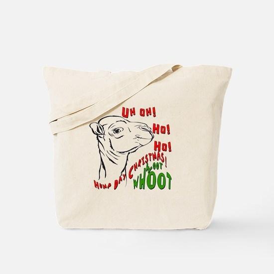Hump Day Christmas Uh Ho Ho Tote Bag