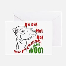 Hump Day Christmas Uh Ho Ho Greeting Card