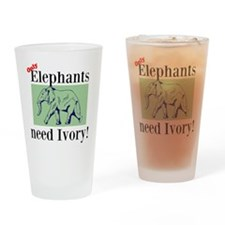 Ivory Drinking Glass