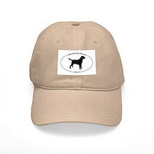 Labrador Oval Text Baseball Cap