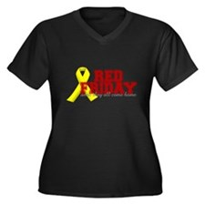 Red Friday until they come home Plus Size T-Shirt