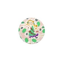 I Love To Skate Mini Button (100 pack)