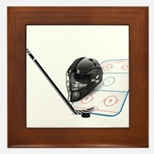Hockey - Sports Framed Tile