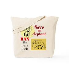 Ivory Tote Bag