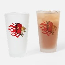 Lion - Big Cat Drinking Glass