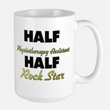 Half Physiotherapy Assistant Half Rock Star Mugs
