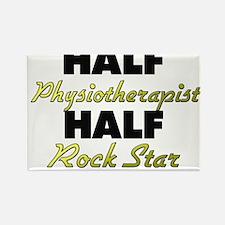 Half Physiotherapist Half Rock Star Magnets