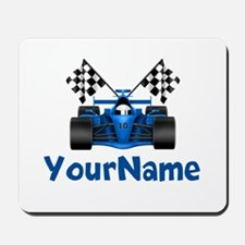 Race Car Personalized Mousepad
