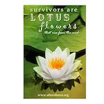Lotus Flowers Postcards (Package of 8)