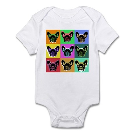 French bulldog Infant Bodysuit