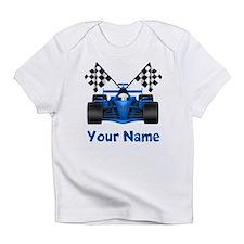 Race Car Personalized Infant T-Shirt
