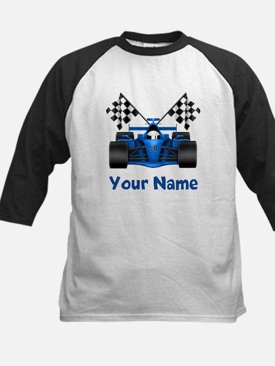 Race Car Personalized Baseball Jersey