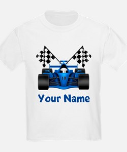Race Car Personalized T-Shirt