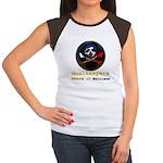 Haitian Football Phantom Women's Cap Sleeve T-Shir