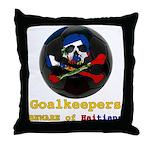 Haitian Football Phantom Throw Pillow