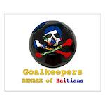 Haitian Football Phantom Small Poster