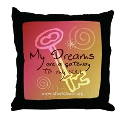 My Dreams Throw Pillow