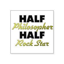 Half Philosopher Half Rock Star Sticker