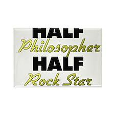 Half Philosopher Half Rock Star Magnets
