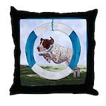 Agility German Shorthair Pointer Throw Pillow
