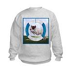 Agility German Shorthair Pointer Kids Sweatshirt