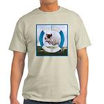 Agility German Shorthair Pointer Ash Grey T-Shirt