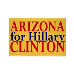 Arizona for Hillary Clinton Rectangle Magnet