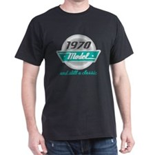 1970 Birthday Vintage Chrome T-Shirt