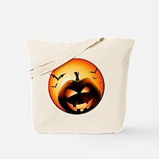 Jack O'Lantern Tote Bag
