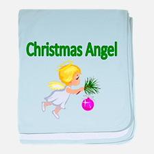Christmas Angel baby blanket