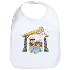 Childrens Nativity Bib