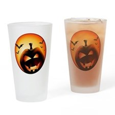 Jack O'Lantern Drinking Glass