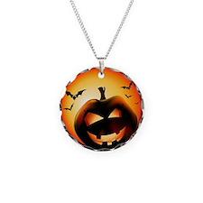 Jack O'Lantern Necklace