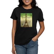 VINTAGE TRAVEL Eiffel Tower T-Shirt