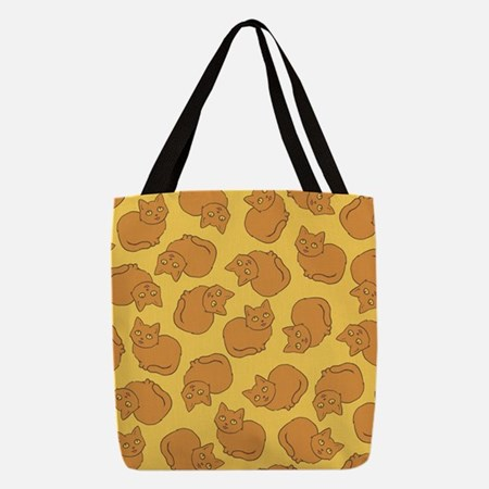 Cute Orange Cat Pattern