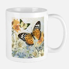 MODERN VINTAGE french butterfly Mugs
